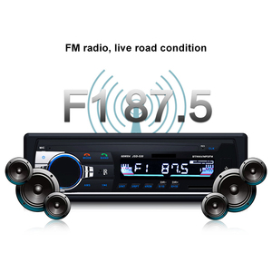Image 5 - Wireless Audio Adapter 12V Handsfree 1 Din Bluetooth Car Radio Stereo MP3 Music Player 3.5mm USB SD AUX FM U Disk Phone Charging