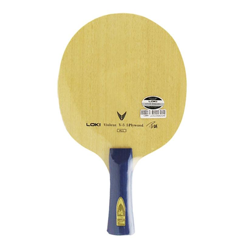 LOKI Table Tennis Blade V5 For Tabletennis Ping Pong Racket Paddle FL CS Handle Grip