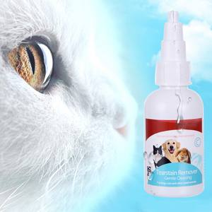 Bactericidal Tear-Eye-Stain-Remover Pets-Care Cats Dogs 50ml for And Eliminate-Eye-Dirt