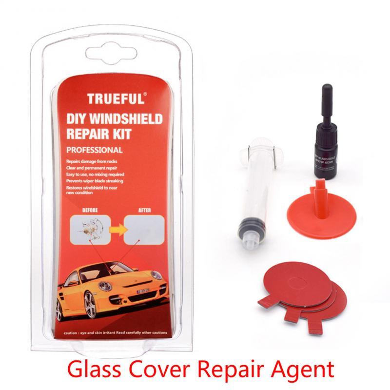 Набор для Ремонта Лобового Стекла, полированный инструмент для восстановления стекол и царапин и трещин, 12 шт.