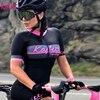 Kafitt pro camisa de ciclismo de manga curta das mulheres terno da bicicleta de estrada roupas esportivas macacão de corrida uniforme bib shorts ciclismo 5