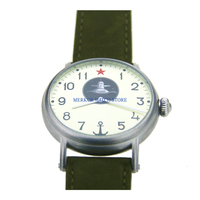Red Star Mechanical Mens Watch Moscow Style Russia handwind mechanical Submarine