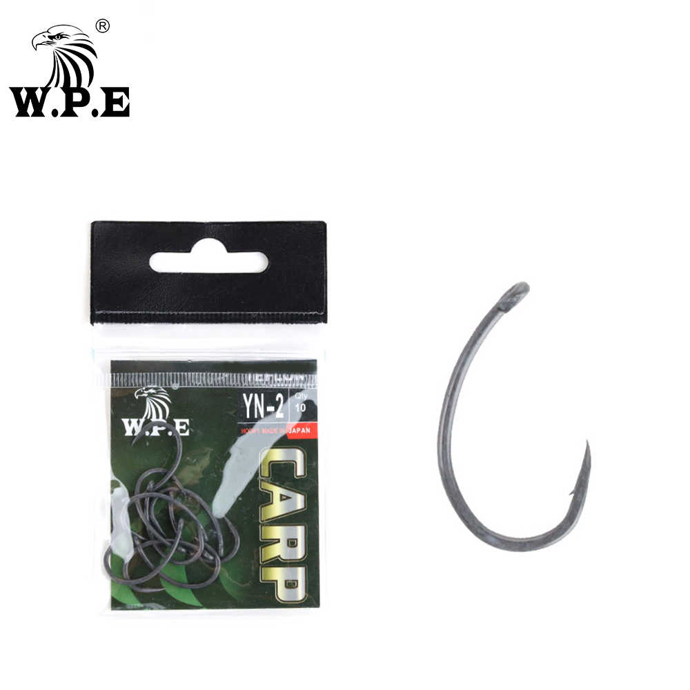 30pcs Coating Carp Hook Yn Fishing Tackles Tools for Carp Fishing 8