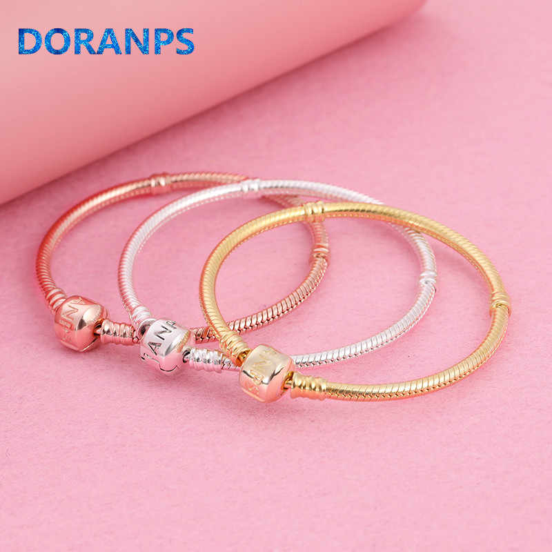 2019 NEW Brand Not Fade 925 silver bangle charm bead for pandoras bracelet women jewlery making,1pz