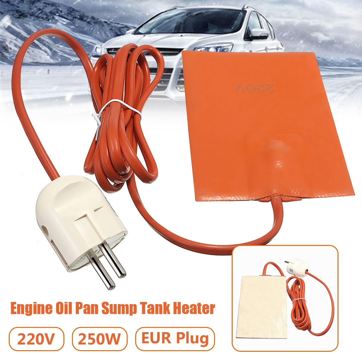 Engine Block Hydraulic Tank Heating Plate Oil Pan Sump Tank Oil Heater Pad Warming Accessoires Silicone Heater Pad,Silicone Heater Pad