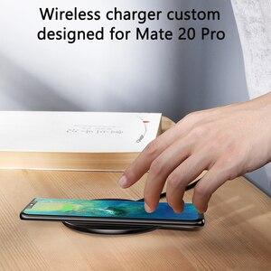 Image 4 - Baseus специальный дизайн 10 Вт Qi Беспроводное зарядное устройство для P30 P30 Pro быстрая Беспроводная зарядка Pad для Mate 20 Pro Samsung S10 S9 S8