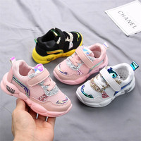 kids shoes 2019 autumn mesh air toddler girls sport sneakers baby boys casual trainer s tenis students running shoes anti slip