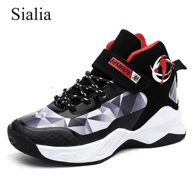 Sialia Basketball Children Casual Shoes For Kids Sneakers Boys Shoes Girls Sneakers Sport Trainers Footwear Sapato Infantil 2019