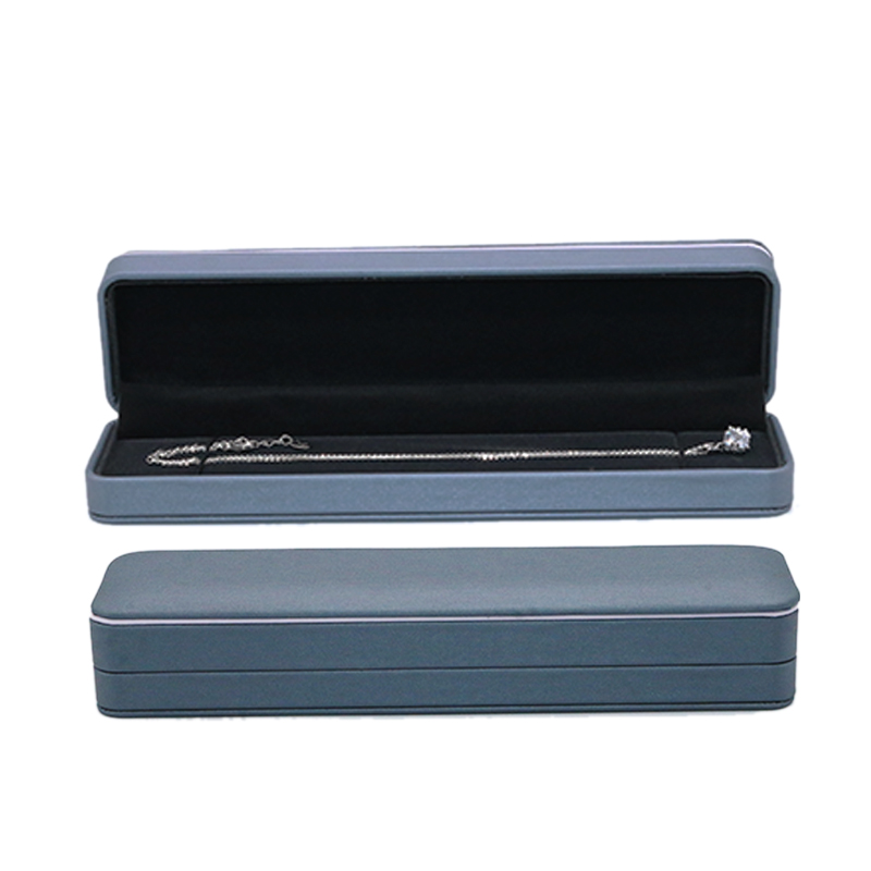 High Quality Bracelet Packing Box Necklace Jewelry Packaging Gift Display Box 3 Colors