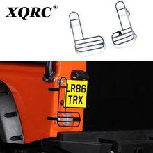 XQRC – abat-jour en métal simulant l'abat-jour de feu arrière, qui est utilisé pour le garde des véhicules sur chenilles 1 / 10 RC traxxas trx-4 TRX 4