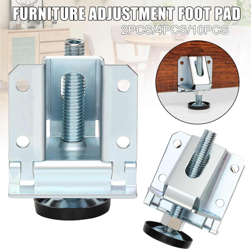 8/8/8pcs Adjustable Furniture Leg Leveler Leveling Feet Heavy Duty  Furniture Levelers Strong Load-bearing Table Leg Leveler