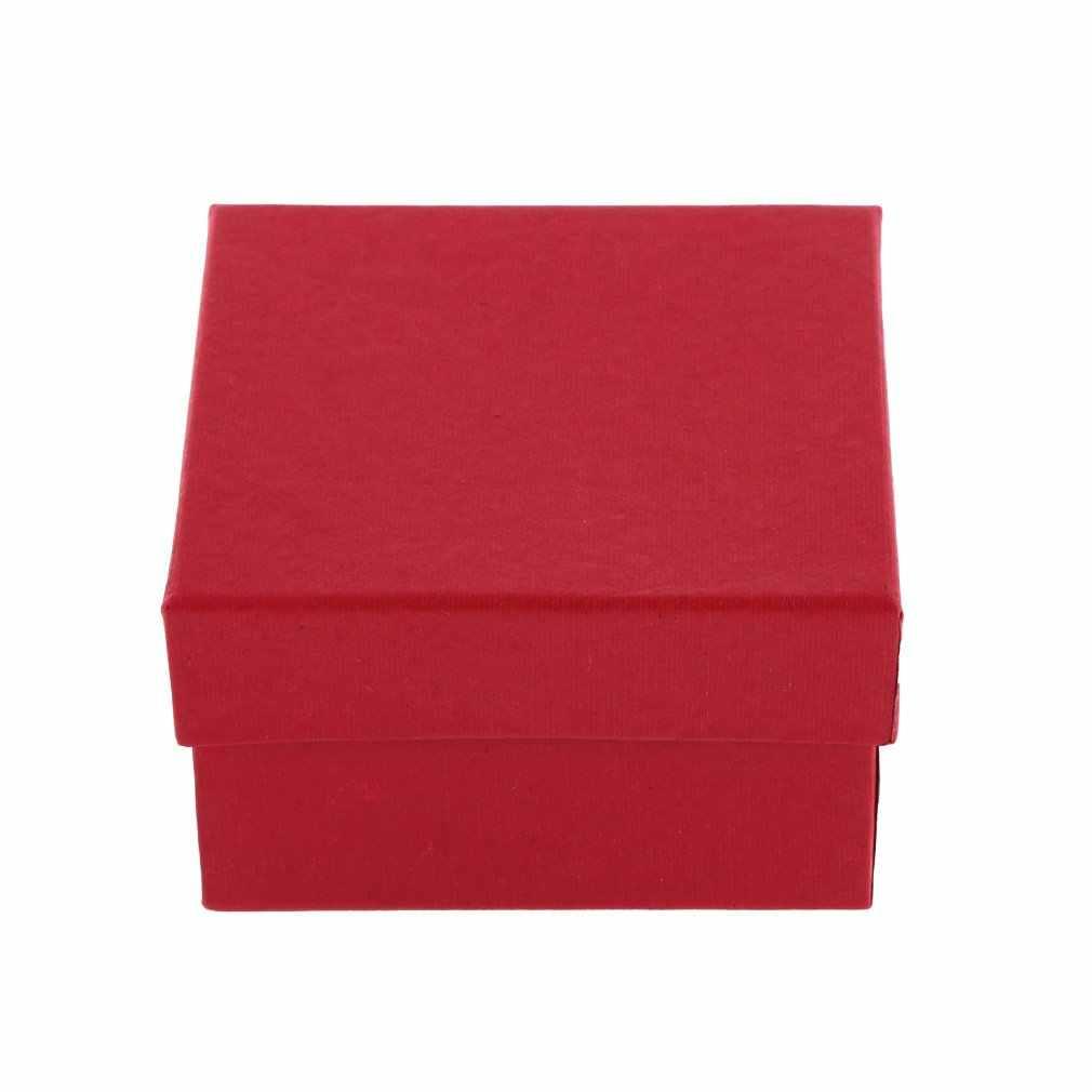 فاخر علبة ساعد يد كلاسيكي هدية الحاضر صندوق عرض التخزين المنظم لسوار أقراط مجوهرات