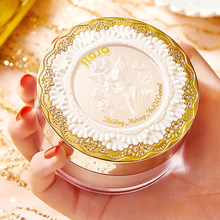 Poudre de maquillage en cristal scintillant, contrôle de l'huile, libre, imperméable, longue durée, naturelle, éclairante, peau douce, bouffante, cosmétiques pour le visage