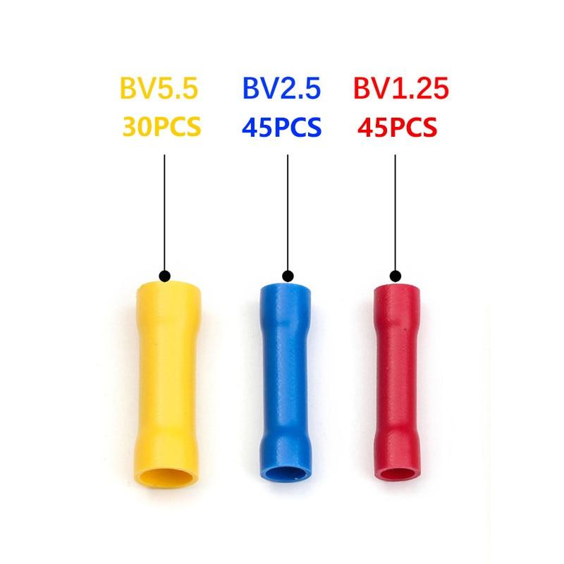 25 pack of red 5mm flanged fork hook terminal crimp connector for 5mm bolt