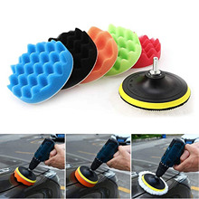 Buffing-Pad-Set Car-Polisher Power-Tools-Accessories Sponge-Wool for 7PCS