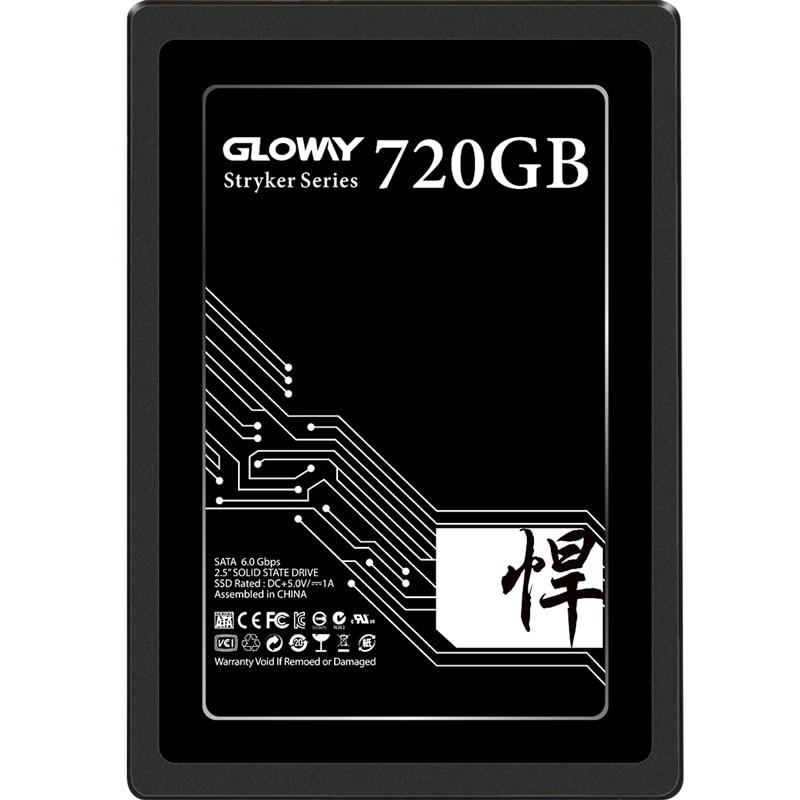 Gloway 2.5 SATA3 Ssd 480gb 720gb 2TB Solid State Drive SSD Hd Internal SSD Drive For Laptop Sodimm