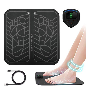 цена на Pressure Therapy Feet Muscle Stimulator Foot Massage Mat Body Deep Muscle Massager Pain Relieve Device EMS Broad Trainer