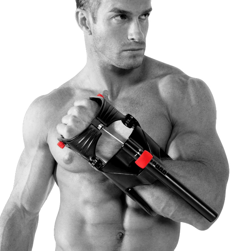 Arm Wrestling Resistance Spring Bar Exercises Arm Wrestling Equipment Hand-Muscle Developer Grips Wrist Exerciser Forearm Trainer Anchored Power Twister