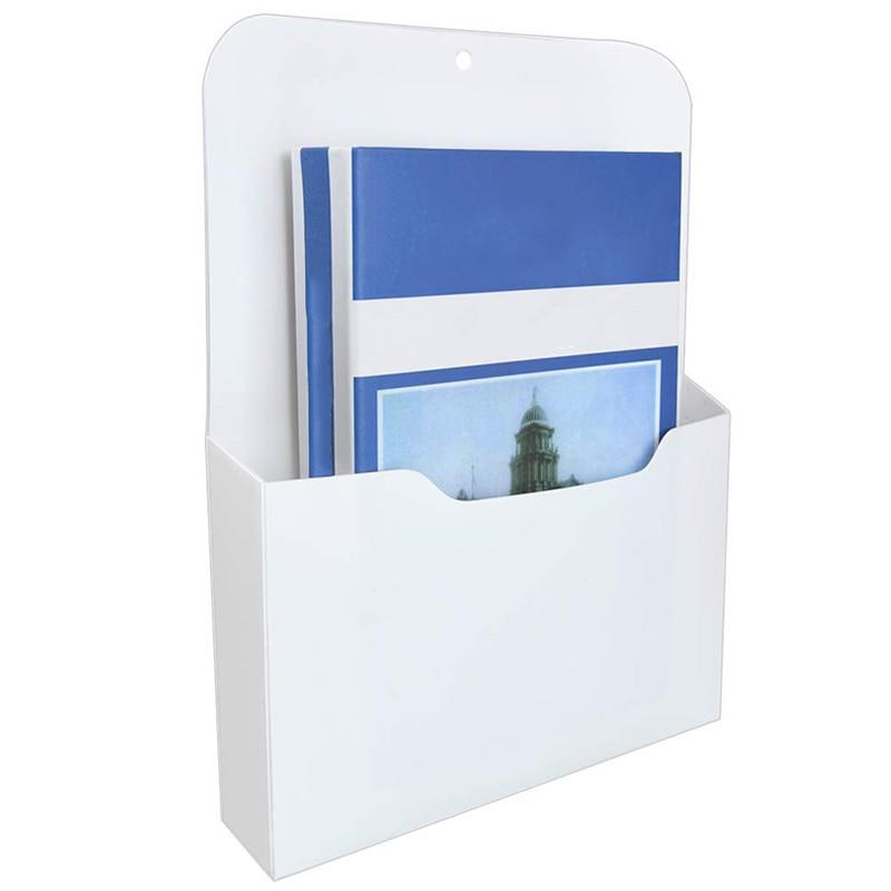 Magnetic File Holder - Magnetic Paper Holder, Pocket Organizer Office Supplies Storage Mail Organizer For Notebooks,Letter