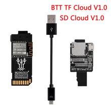 Bigtreetech btt tf nuvem v1.0 sd nuvem v1.0 módulo de transmissão sem fio para skr v1.4 turbo skr v1.3 gtr placa impressora 3d peças