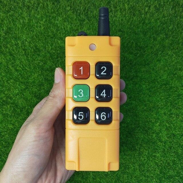 universal DC 12V 24V 36V 48V 10A 6CH 30A relay RF Wireless radio Remote Control 433 mhz or 315mhz Industrial/agricultural 8