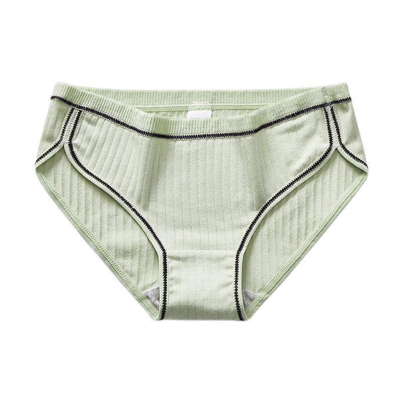 Ladies Seamless Panties Sexy Lingerie Women Solid Cotton Briefs Middle Waist Briefs High Stretch Panties Underwear Intimate Wear