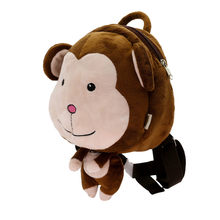 New Kawaii Stuffed Plush Kids Baby Toddler School Bags Backpack Kindergarten Schoolbag for Girls Boys 3D Cartoon Animal Backpack(China)