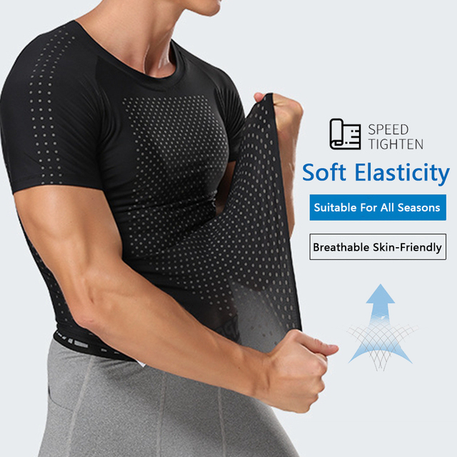 Men's Sweat Shirt Slimming Belt Corset Vest Tummy Shaper Corrective Underwear Waist Trainer Binders Body Shapers Shapewear 3