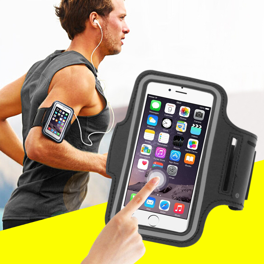 5.5'' 4.7'' Outdoor Sports Phone Holder Armband Case For Oneplus 5 3 3T 2 1 Running Phone Bag Arm Band Case For iPhone 8 7 6 5 s