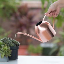 Watering Can Solid Stainless Steel Pot Long Spout Indoors Home Plant Pot bottle Watering Device meaty bonsai garden tool 500ml