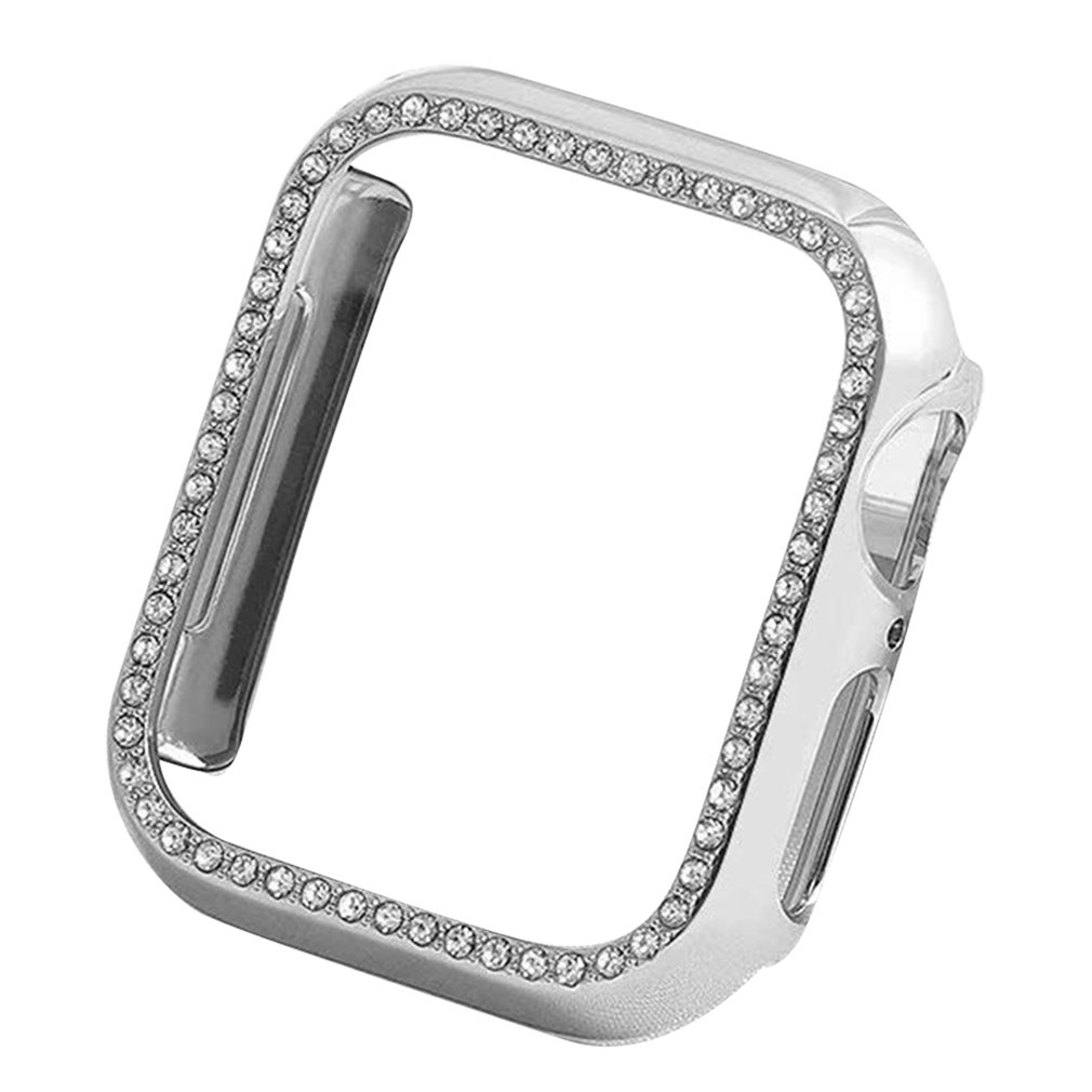 For Apple Watch 4 5 Generation Drop-Proof Diamond-Enhanced Pc Case 38 42 40 44Mm Smart Watch Protection Case image