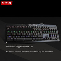 CHYI Mechanical Keyboard Custom Lighting Arc Key Caps Rgb Keypad Gaming Ergonomic Computer Keyboards For Gamer PC Lptop Tablet