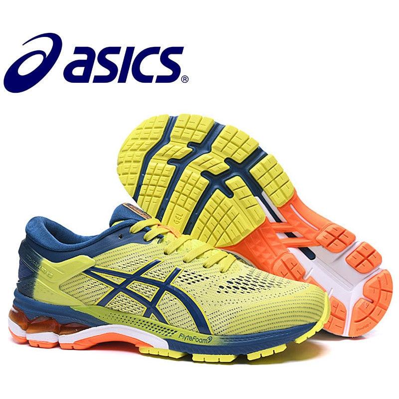 2019 venda quente novo asics gel kayano 26 tênis masculinos sapatos asics homem tênis de corrida sapatos esportivos gel kayano 26 dos homens