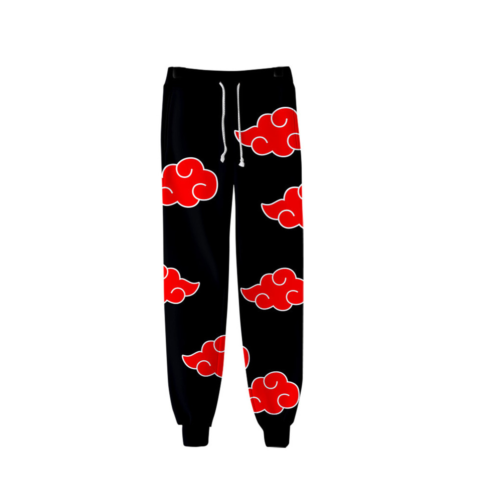 Naruto Akatsuki 3D Printed Jogger Pants Itachi Uchiha Boys Student Anime Naruto Cosplay Sweatpants Harajuku Men/Women Trousers