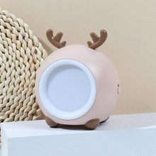 Pet Style USB Rechargeable LED Night Light Lamp for Nursery in Living Room Bed Room Children Gift and Room Decoration