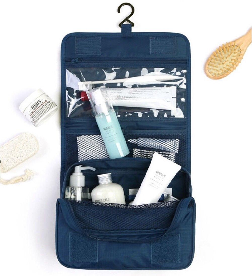Travel Wash Toiletry Organizer MakeUp Mens Ladies Hanging Folding Pouch Case Bag