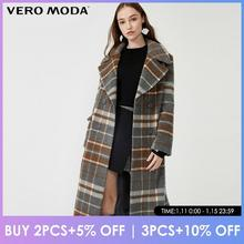 Vero Moda Herbst Winter Plaid Wolle Alpaka Jacke Mantel | 319327564