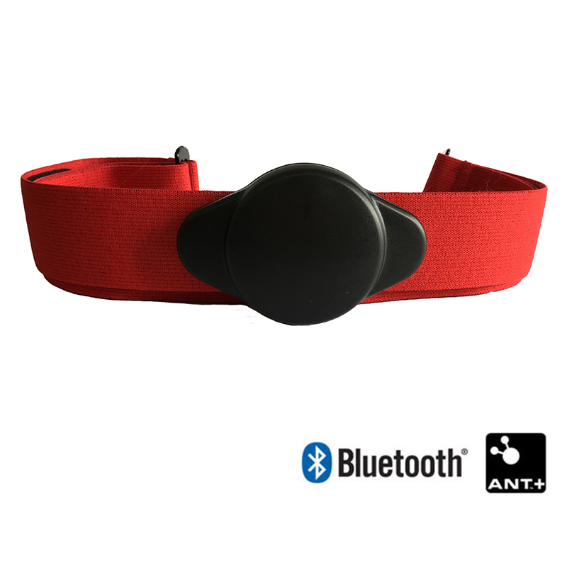 Heart Rate Monitor Chest Strap Band Bluetooth ANT Ant+ Sport Fitness Heart Rate Sensor Belt Compatible Garmin Bryton Wahoo Polar