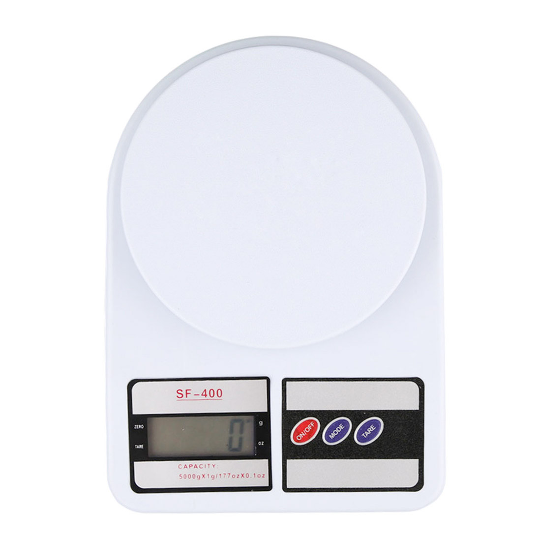 Precise Kichen Electronic Scale 5/10kg 1g LCD Display Electronic Bench Weight Scale Kitchen Cooking Measure Tools Food Balance