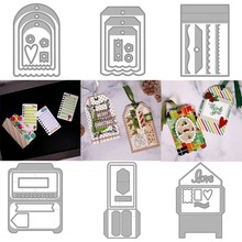 2020 Various labels Metal Cutting Dies DIY Scrapbooking Paper Photo Album Crafts Knife Mould Card Blade Punch Stencils for Decor