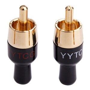 Złącze RCA Jack głośnik do 4mm kabel Audio konwerter lutowane złącze męskie RCA do lutowania miedzi adaptery do wzmacniacza mikser