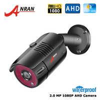 ANRAN AHD Analogico Ad Alta Definizione Telecamera di Sorveglianza 1080P AHD CCTV Telecamera di Sicurezza Esterna Macchina Fotografica Della Pallottola