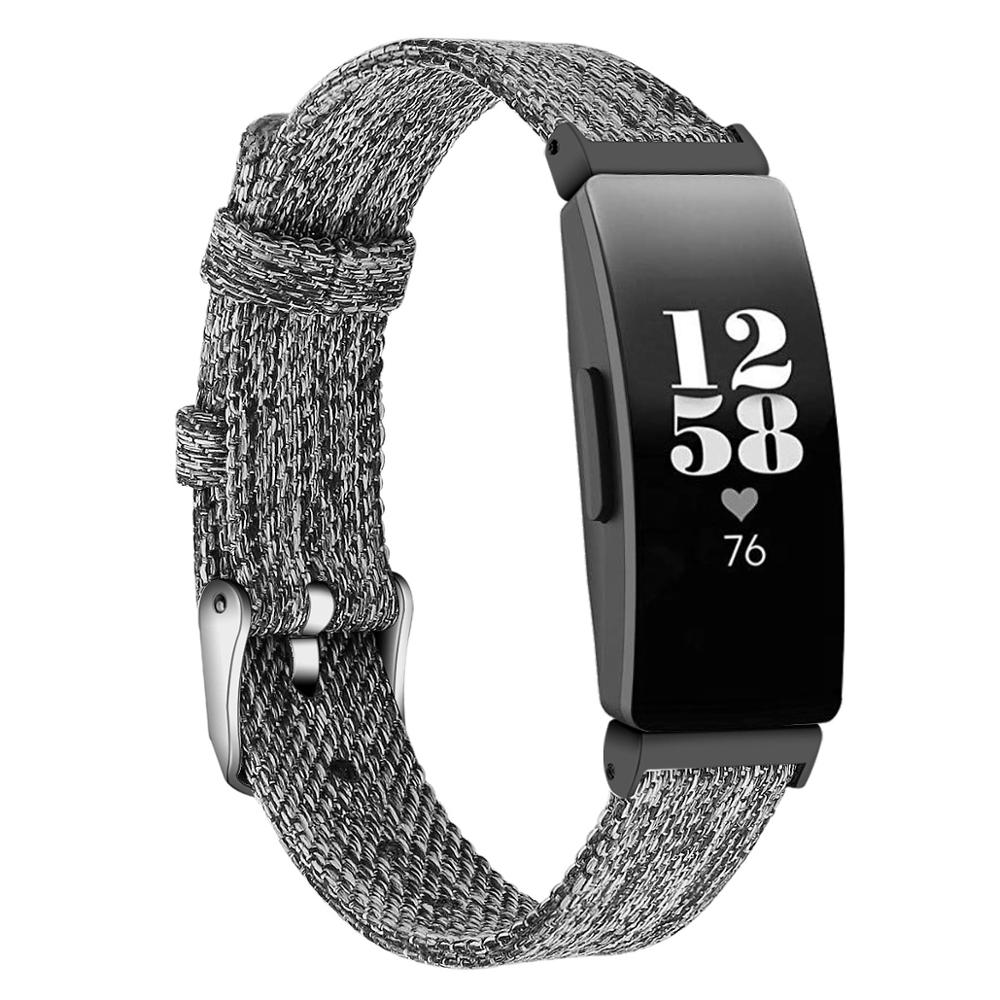 Watch Strap For Fitbit Inspire Band Canvas Breathable Replacement Bracelet For Fitbit Inspire Hr Correa Fitbit Watch  64004
