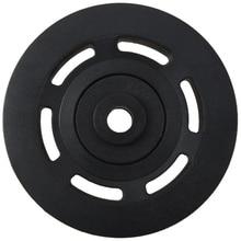 95 мм черный подшипник шкив колеса Кабель оборудование для спортзала часть износостойкая