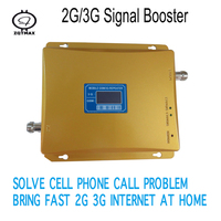 GSM Mobile Repeater LTE UMTS GSM 900MHz 3G 2G Handy Repeater Signal Booster Dual-Band-Handy verstärker Cellular booster