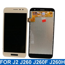 For Samsung Galaxy J2 2018 J260 J260F J260H Mobile phone LCD Display Touch Screen Digitizer Assembly with Brightness Control