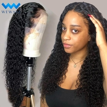 lace front human hair wigs for Black Women deep wave curly h