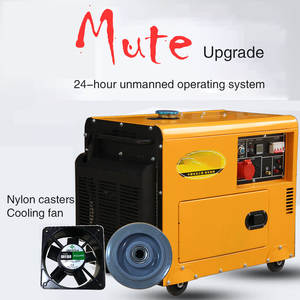 Fully automatic household silent diesel generator