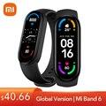Глобальная версия Xiaomi Mi Band 6 смарт-браслет 1,56