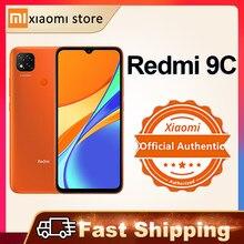 Xiaomi redmi 9c versão global 2gb 32gb smartphone helio g35 octa núcleo 6.53